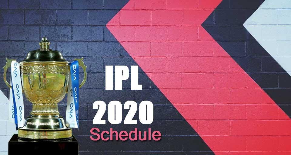 Vivo IPL 2021 Schedule