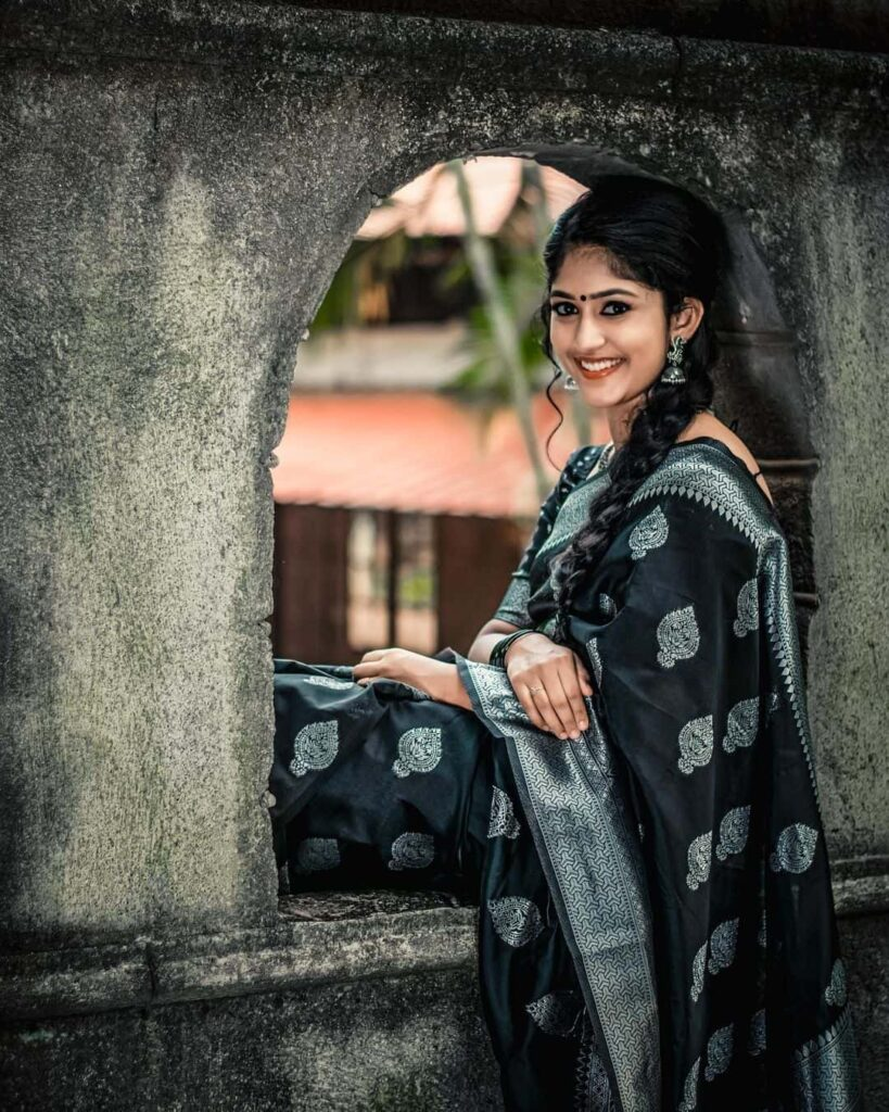 Kalyani Anil in saree