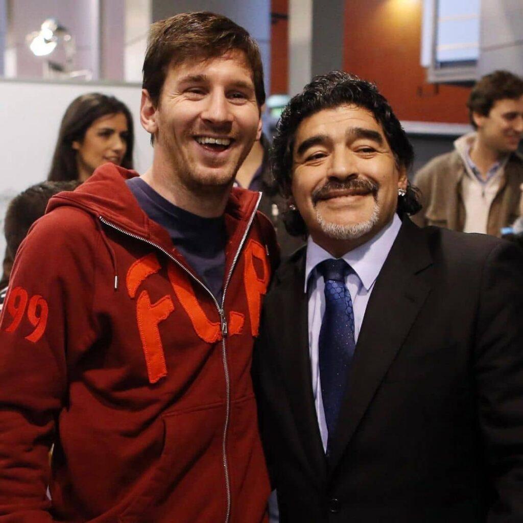 Lionel Messi Maradona