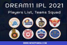 vivo ipl 2021 teams and players list