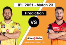 CSK vs SRH Dream11 Prediction Today