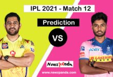 CSK vs RR Dream11 Prediction