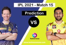 KKR vs CSK Dream11 Prediction