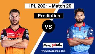 SRH vs DC Dream11 Prediction Today