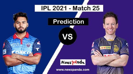 DC vs KKR Dream11 Prediction Today