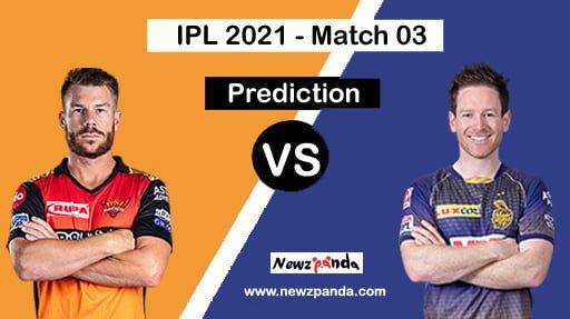 SRH vs KKR Dream11 Team Prediction