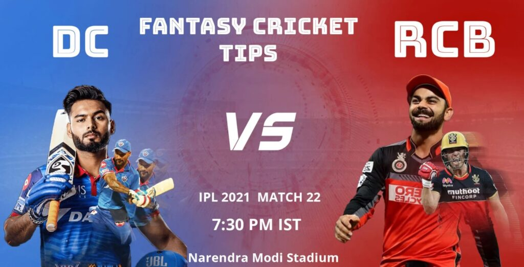 DC vs RCB Dream11 Predicions