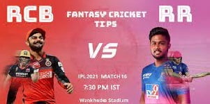 rcb vs rr dream11 prediction