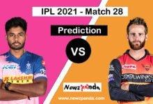 rr vs srh dream11 prediction