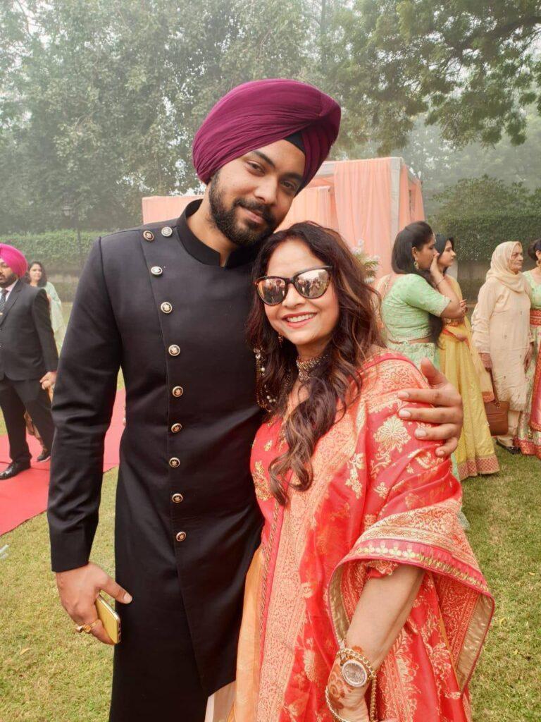 Aman Preet Singh Family