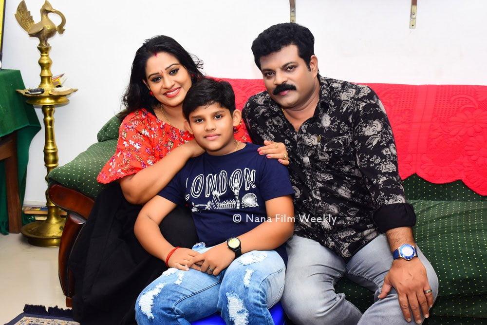 Manoj Nair Family