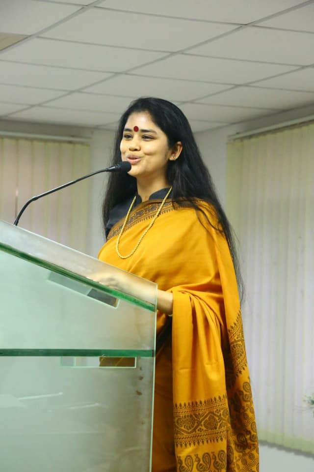 Sanchaita Gajapathi Raju Instagram