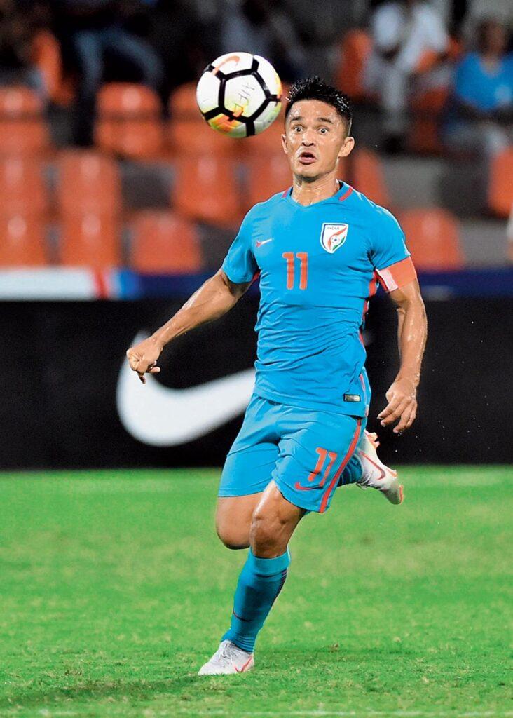 Sunil Chhetri Footballer
