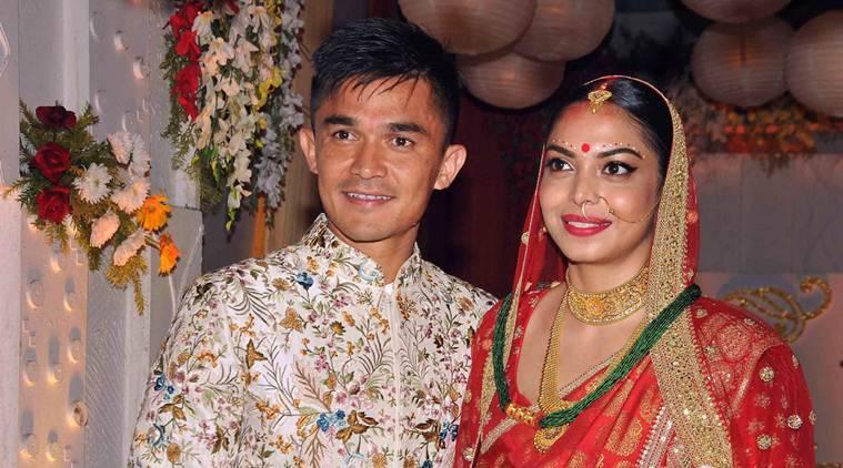 Sunil Chhetri Wife Images