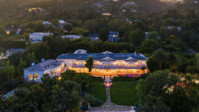 Azria Estate, Once Owned by Sidney Sheldon, Hits the Market for $85M