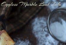 Eggless Marble Loaf Cake ~ Nalini'sKitchen