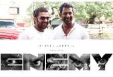Enemy Movie (2021): Vishal Arya | Cast | Trailer | Songs | Date of publication