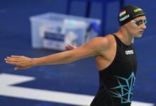 Hungary's Katinka Hosszu prepares to compete at European Aquatics Championships (AFP)