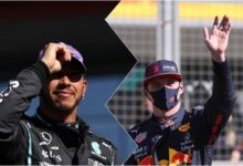 Verstappen accuses Hamilton of 'disrespectful and unsportsmanlike behaviour' (AP)