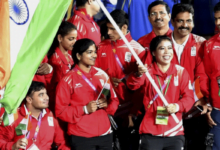 Mary Komand Manpreet Singh named India's flag bearers (PTI)