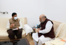 BJP Mumbai president Mangal Prabhat Lodha has met Union Home Minister Amit Shah and reiterated his demand to convert Jinnah House  into a centre for art and culture.