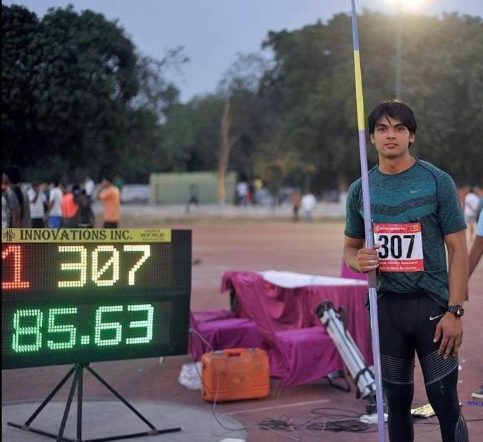 Neeraj Chopra Athlete