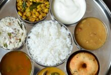 No Onion and Garlic Thali /Festive Thali