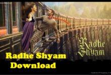 Radhe Shyam Download Full Movie HD 720p, 1080p Filmyzilla, Filmywap