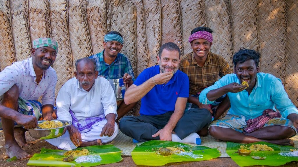 Village Cooking Channel with Rahul Gandhi