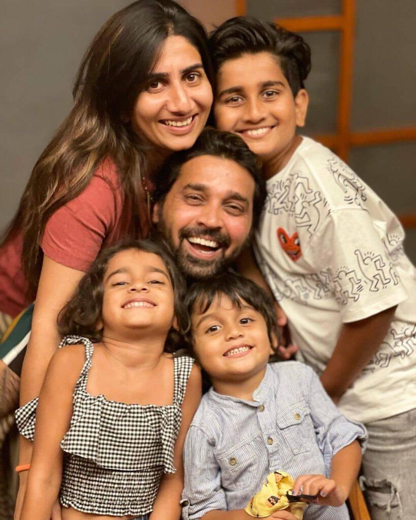 Nikita Vijay Family