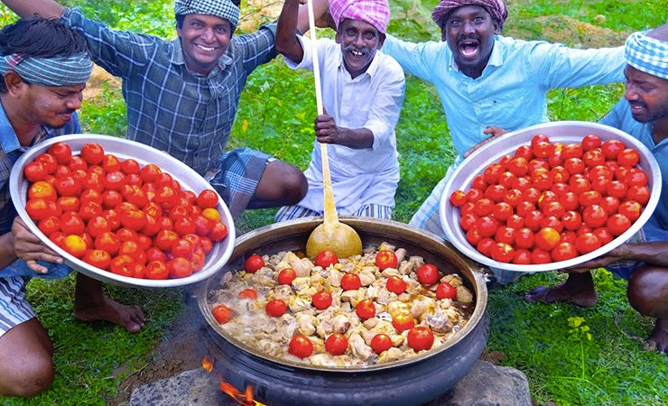 Village Cooking Channel Income