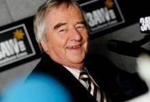 Ernie Sigley in 2006. Photo