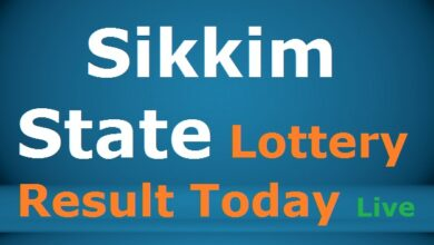 Sikkim State Lottery Result Today 26.8.2021 {Live} 1 PM, 4 PM, 8 PM