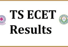 TS ECET Results 2021: Download Scorecard