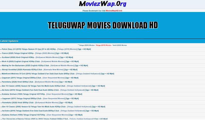 Teluguwap 2021: Telugu HD Movies Download Website