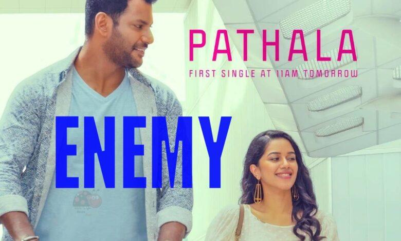 Vishal Arya's Enemy Movie First Single Pathala Song