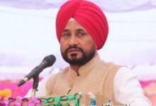 Charanjeet Singh Channi giving speech