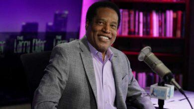 Larry Elder as radio host