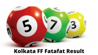 Live Kolkata FF Fatafat Result Today 7.9.2021 Out, Check Winners List and Number