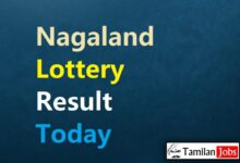 Nagaland State Lottery Result Today 8.9.2021 {Live} 2 PM, 6 PM, 8 PM