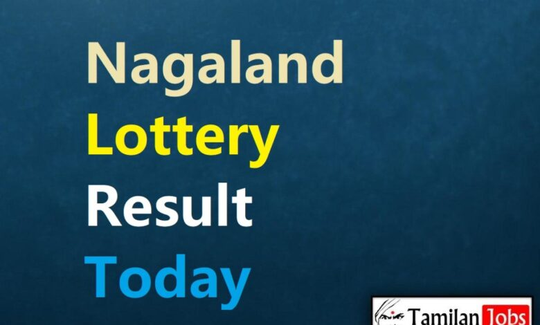 Nagaland State Lottery Result Today 9.9.2021 {Live} 2 PM, 6 PM, 8 PM