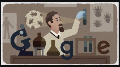Google Doodle celebrates Polish inventor Rudolf Weigl's 138th birthday