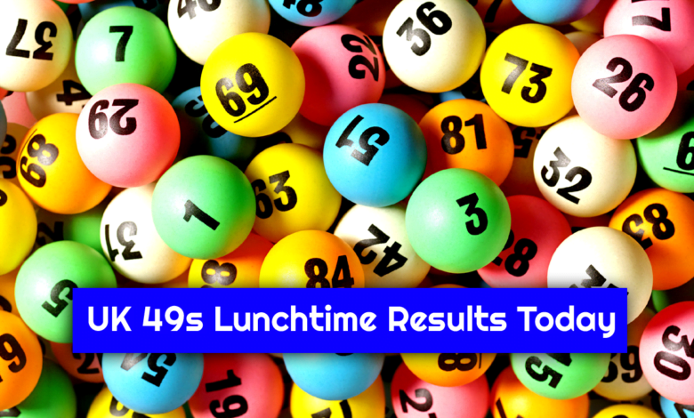 UK 49s Lunchtime Result Today 13.9.2021, Check 49's Winning Numbers
