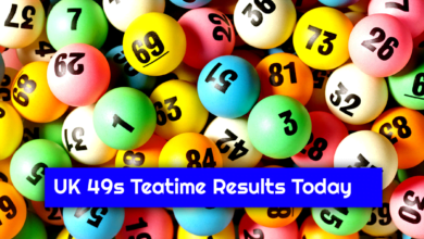 UK 49s Teatime Result Today 13.9.2021, Check 49's Winning Numbers