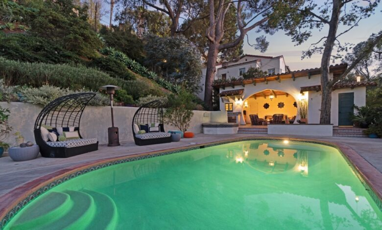 'Supernatural' Star Misha Collins Selling Hollywood Hills Spanish Home for $3.99M
