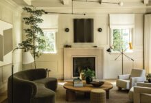 """Interior Designer Jake Arnold's """"Modern"""" and """"Cozy"""" Home Redesign for an Entertainment Executive"""