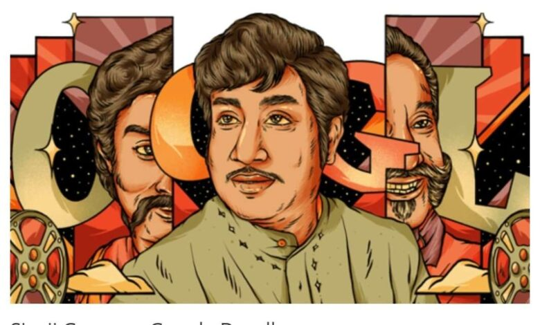 Google Doodle Pays Tribute to Sivaji Ganesan on his 93rd Birth Anniversary